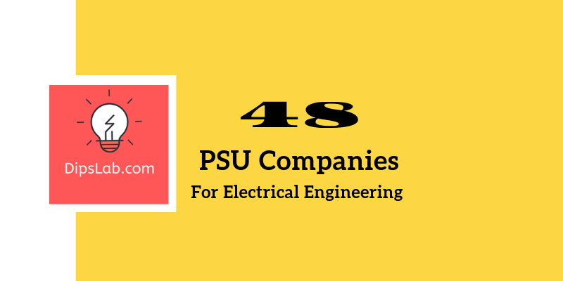 How Can You Get A Job In 48 PSU Companies As Engineer?