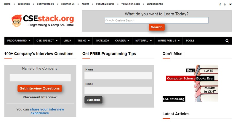 web design CSEstack