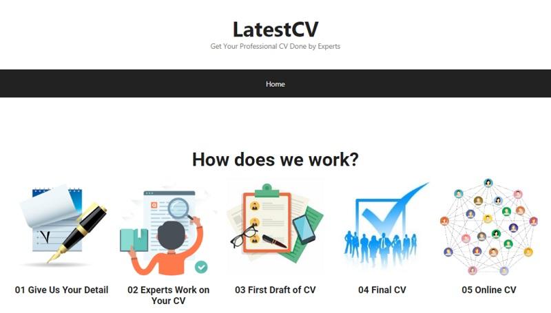 web design LatestCV