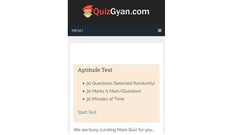web design quizgyan