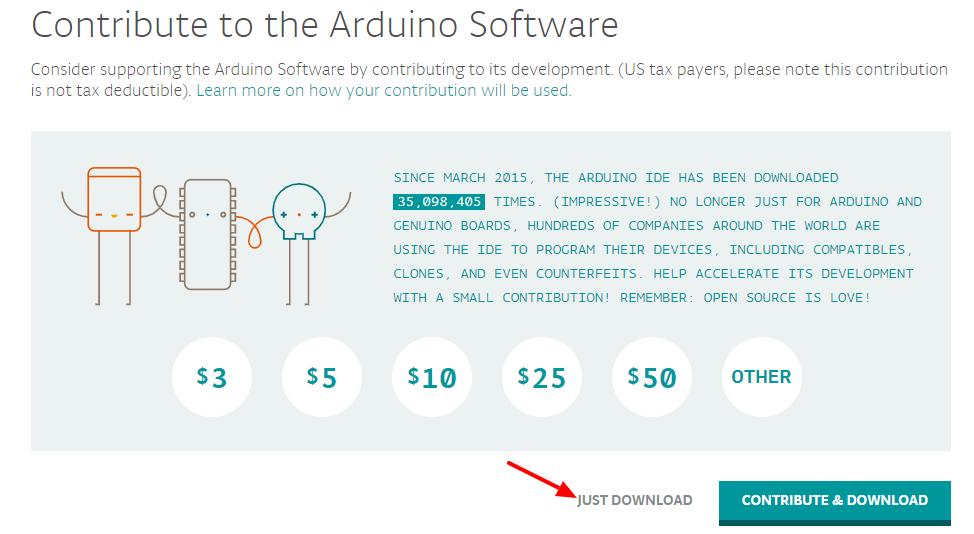Arduino Donate