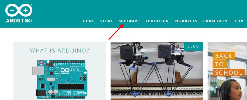 Arduino software official