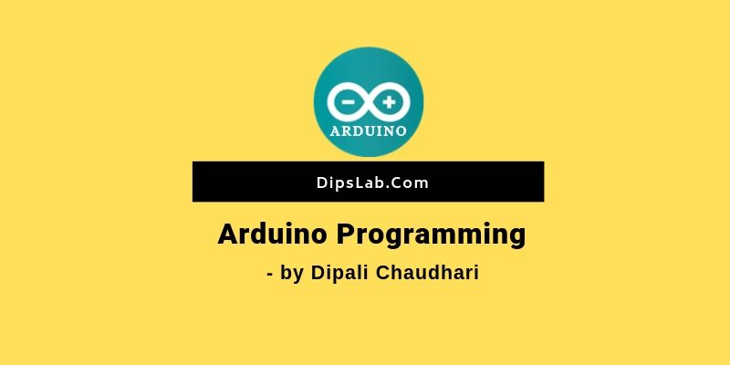 Arduino programming feature
