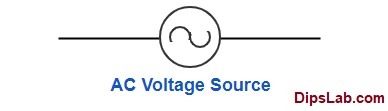 AC voltage source symbol