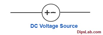 DC voltage source symbol