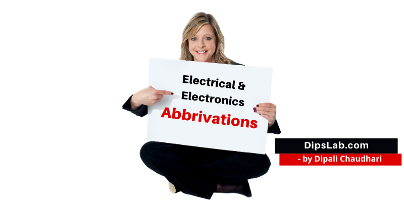 Electrical Electronic abbreviation