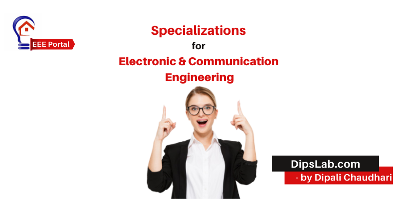 electronics and communication engineering specializations